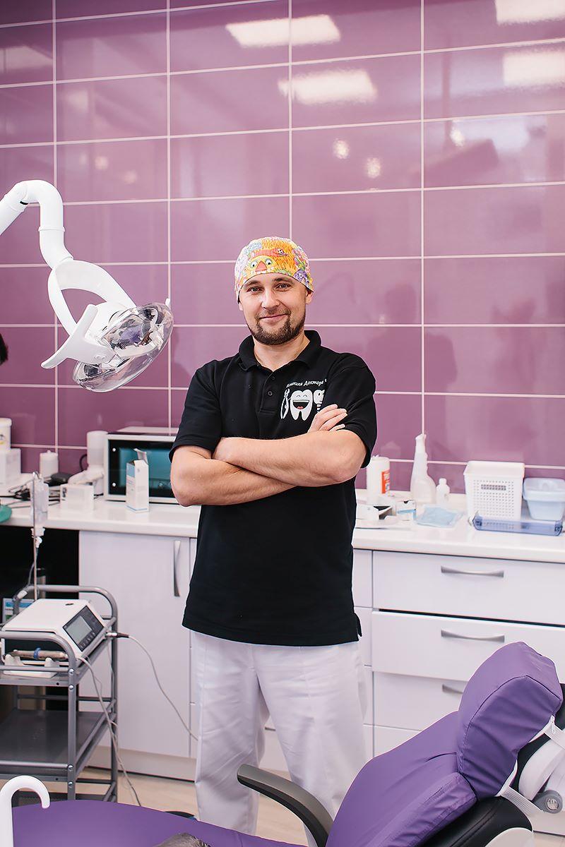 Габидуллин Егор Рифович, врач хирург-имплантолог